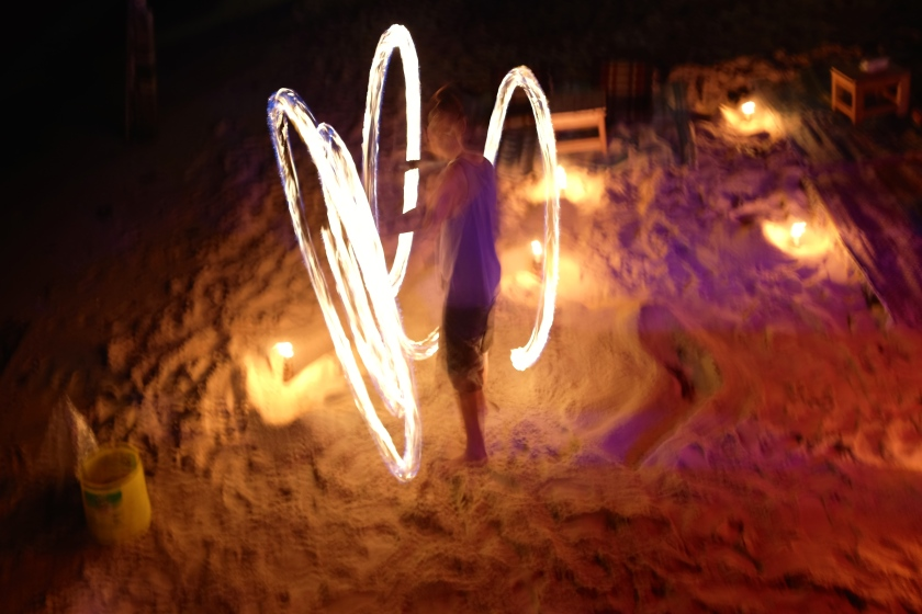 Fire Dancers in Chalok Bay, Koh Tao