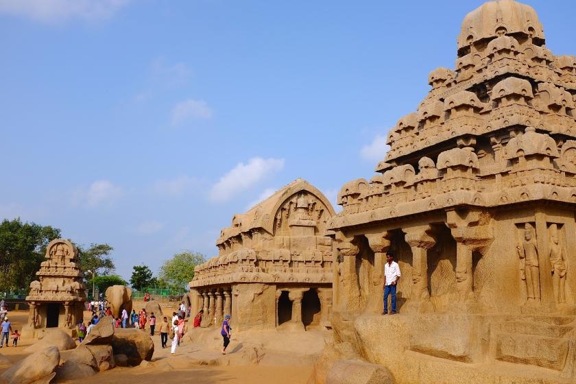 Five Rathas, Mamallapuram