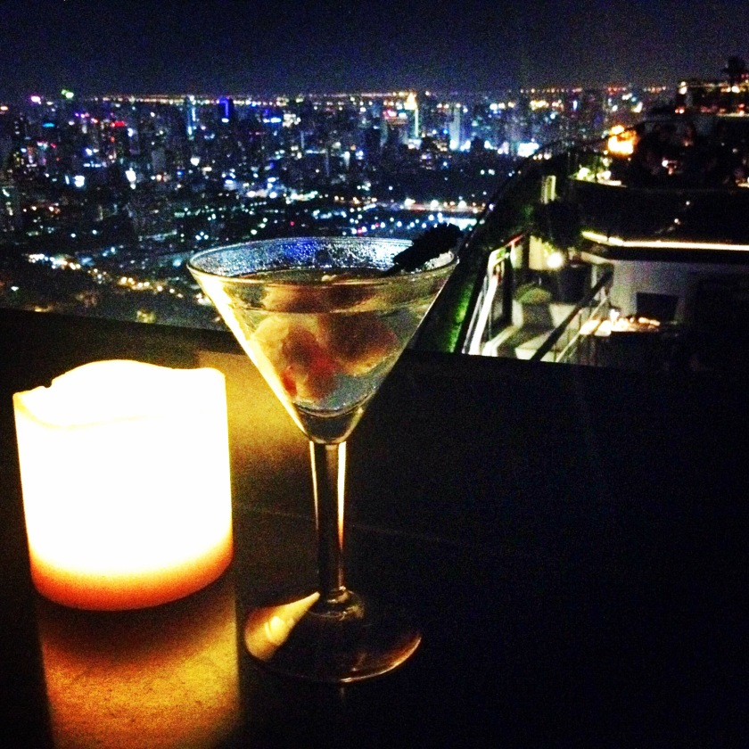 Martini's with a view, Moon Bar