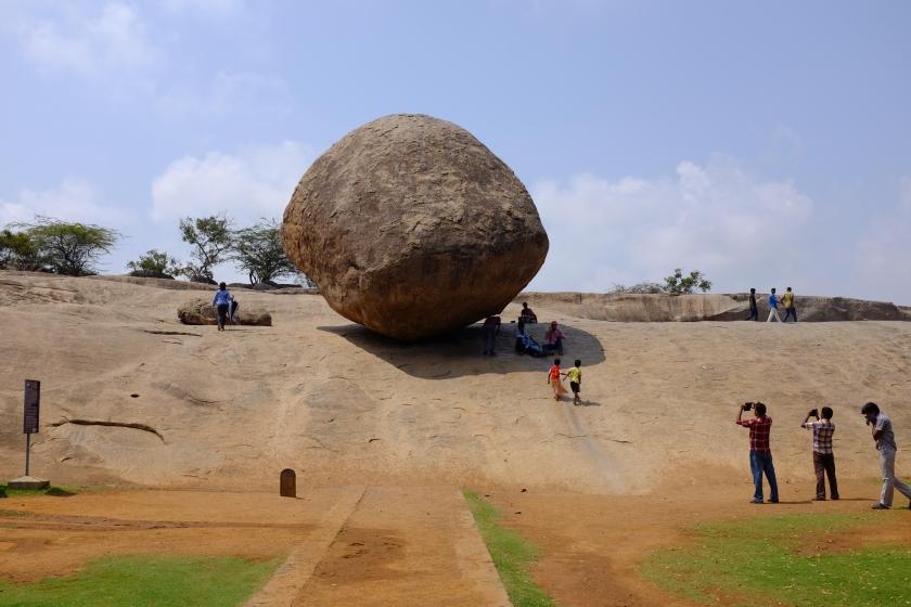 Krishna's Butterball, Mamallapuram Hill