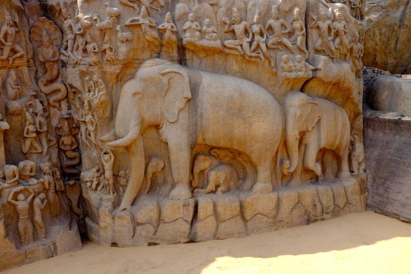 Arjuna's Penance, Mamallapuram Hill