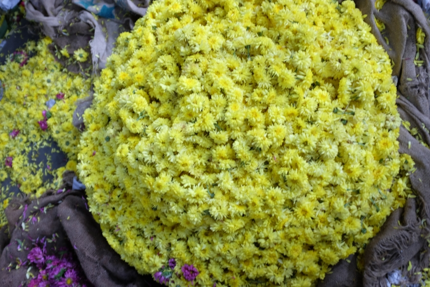 Flowers at Krishnarajendra City Market