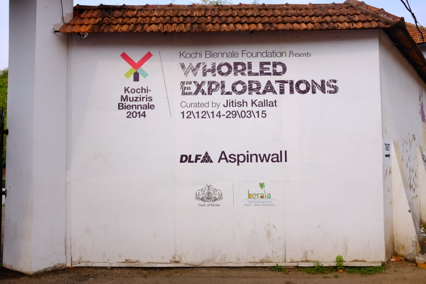 Kochi-Murziris Biennale 2014 at Aspinwall House