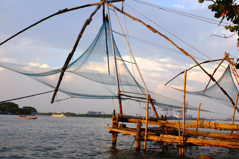 Ancient Chinese Fishing nets
