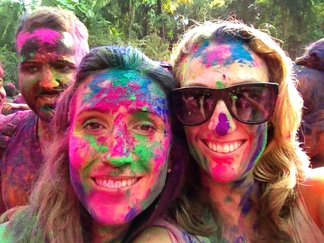 At the end of Holi