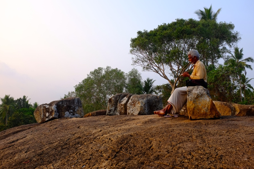 Meditation rock