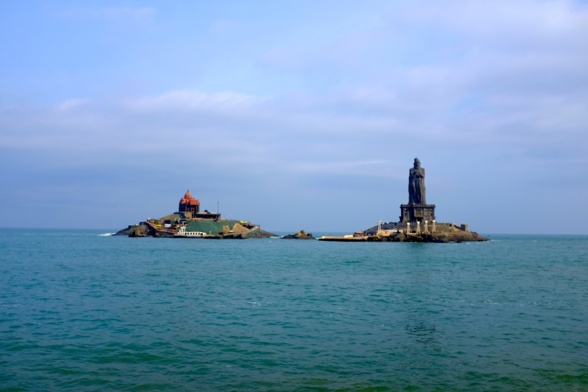 Vivekananda Rock and Thiruvalluvar Statue