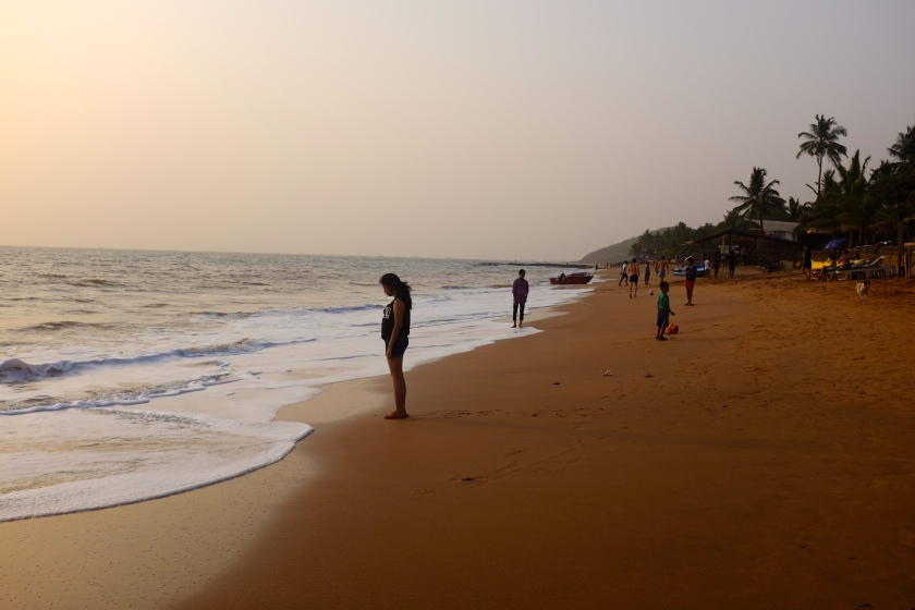 Dusk At Anjuna Beach