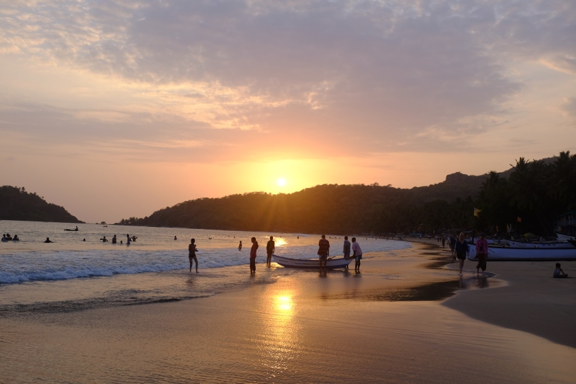 Beautiful Sunset At Palolem