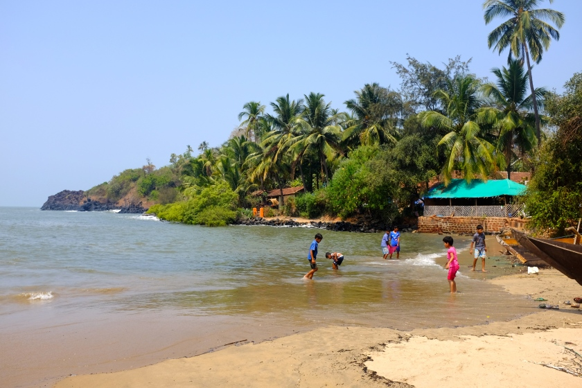 Walk to Patnem Beach From Palolem