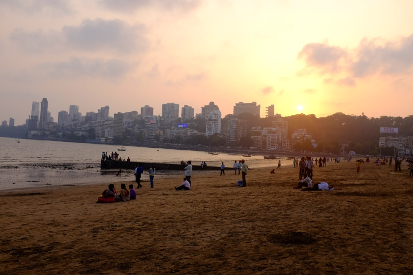 Sunset At Chowpatty