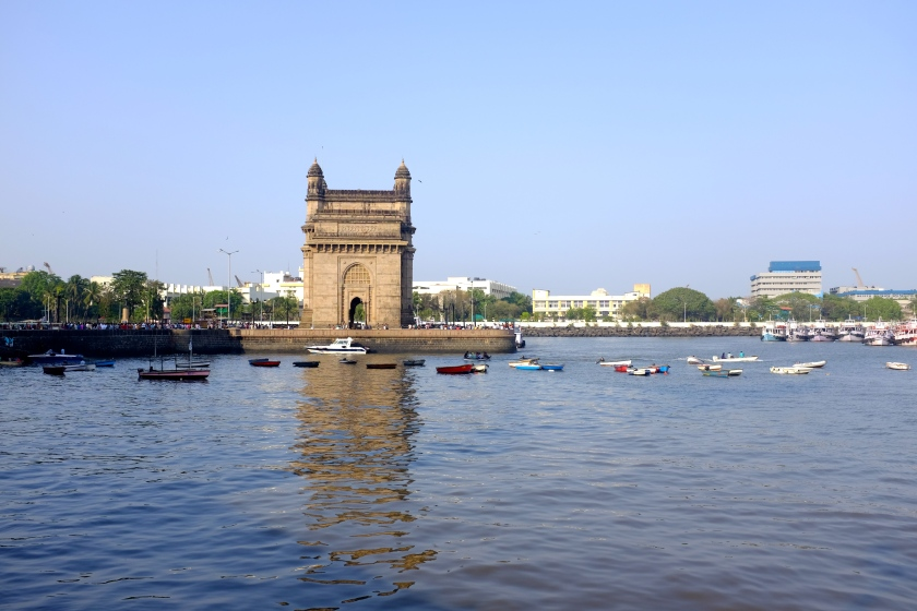 View Of The Gateway Of India From The Ferry