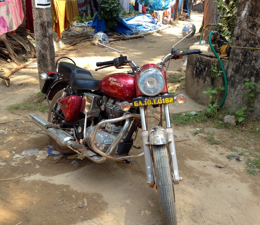 A Royal Enfield, Seen All Over Goa