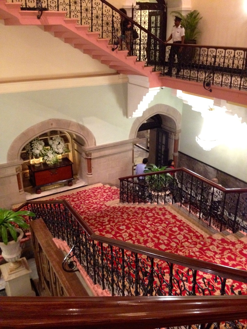 The Grand Stairwell Leading To The Sea Lounge