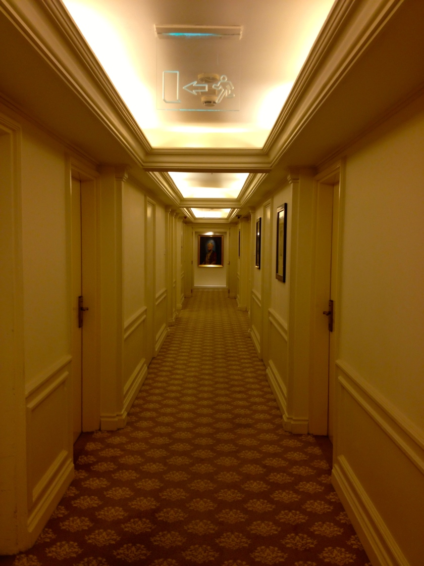 Walking To My Hotel Room